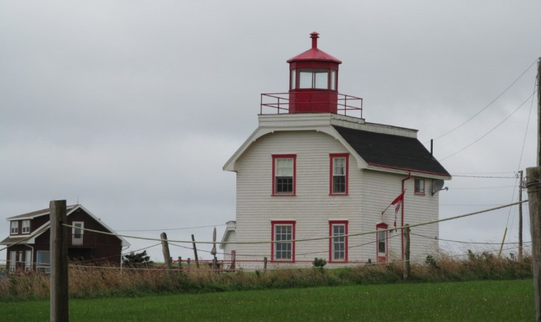 lighthouse at Cousin's Shore, PEI